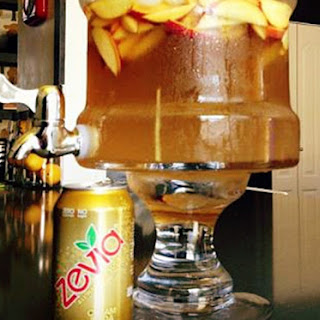 Peaches & Cream Soda Sangria