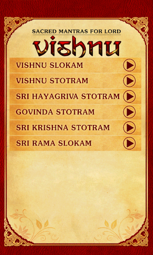 Sacred Mantras For Lord Vishnu