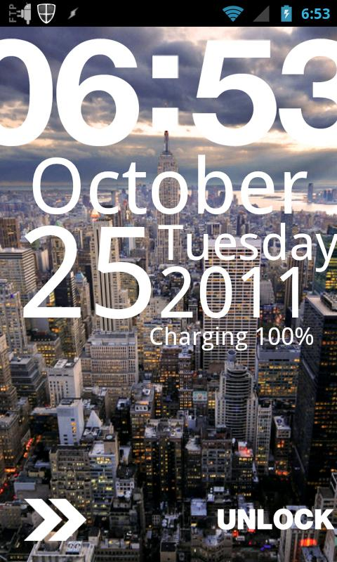 Typophone - MagicLockerTheme - screenshot