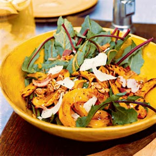 Warm Kabocha Squash Salad