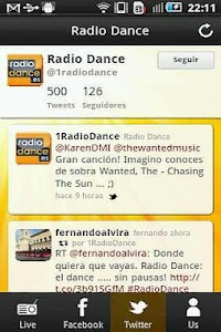 Radio Dance screenshot 2