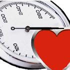 Blood pressure memo icon
