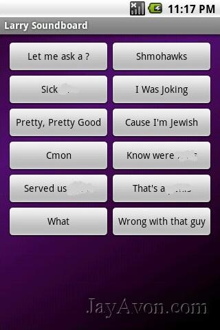 Larry Soundboard - screenshot
