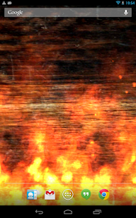 KF Flames Live Wallpaper - screenshot thumbnail