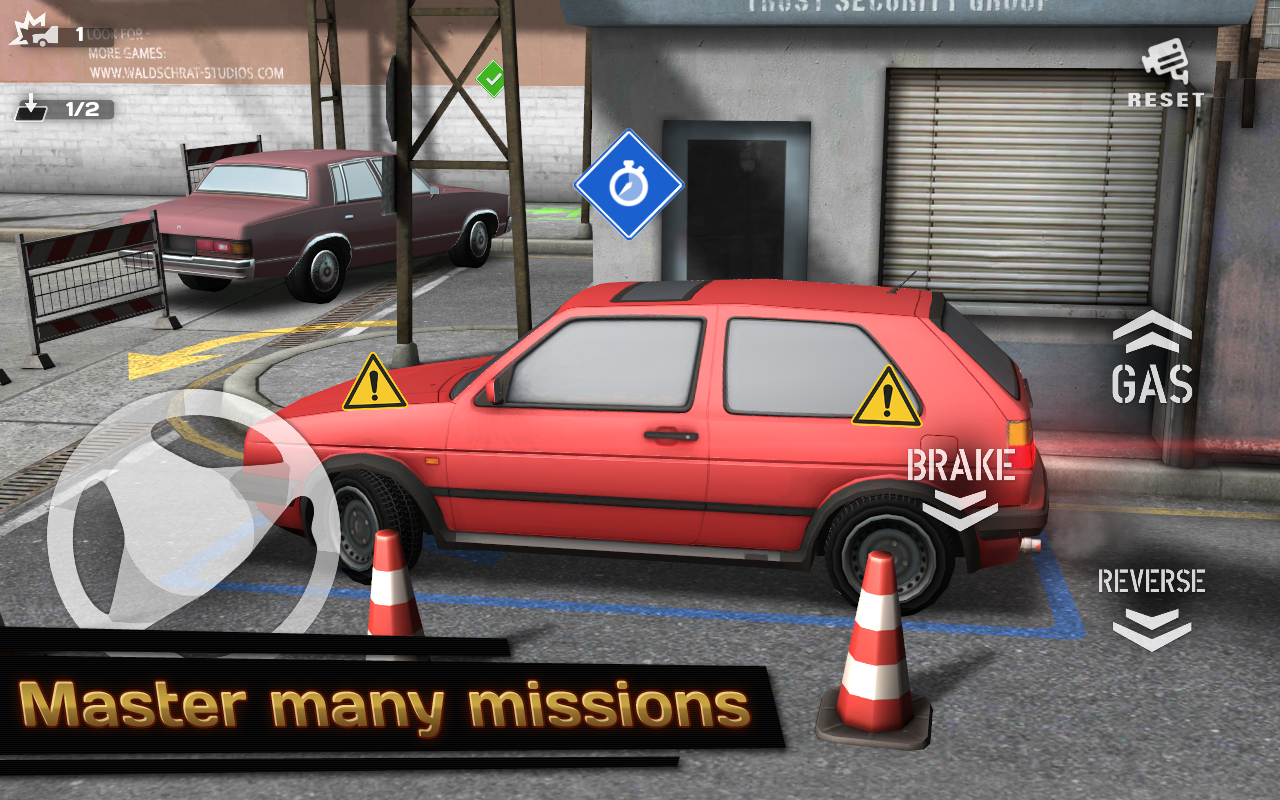 Backyard Parking 3D - screenshot