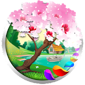 Download Seasons Spring Live Wallpaper APK to PC