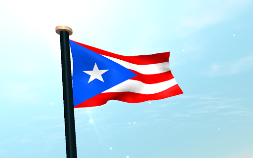 Puerto Rico Flag 3D Free app (apk) free download for Android/PC/Windows screenshot