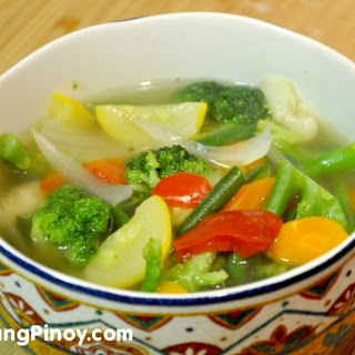 Healthy Vegetable Soup.