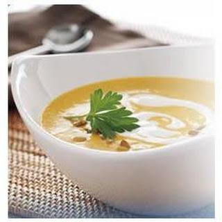 Creamy Sweet Potato Soup.