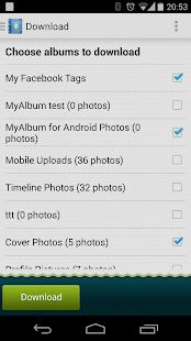 MyAlbum for Facebook Pro - screenshot thumbnail