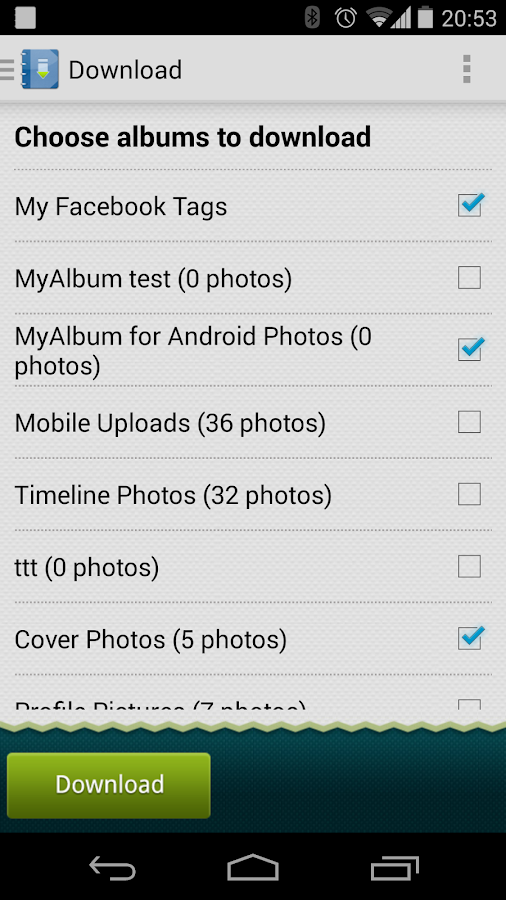 MyAlbum for Facebook Pro - screenshot
