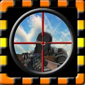 Sniper desert shooting