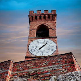 Clock Tower by Andrea Magnani - Buildings & Architecture Public & Historical
