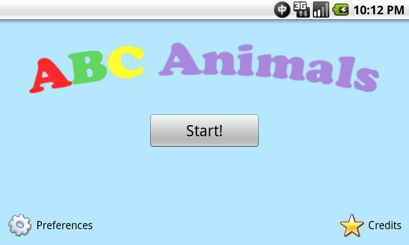 ABC Animals- screenshot