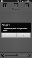Screenshot of Türkrapfm