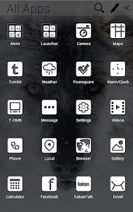 The Wolf Atom theme screenshot 1