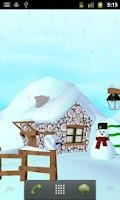 Screenshot of Winter 3D Free Live Wallpaper