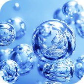 Water Bubbles Live Wallpaper