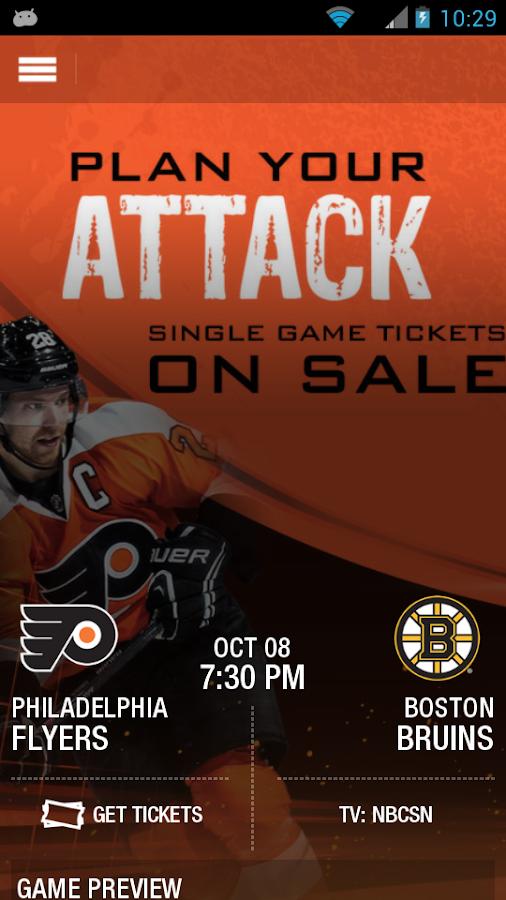 Philadelphia Flyers - screenshot