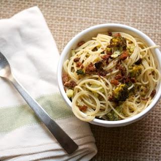 Brown Butter Broccoli Spaghetti.