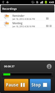 Voice Record- screenshot thumbnail