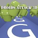 FGG Droids Attack 3D logo
