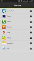 Screenshot of Applock Master--Lock your apps