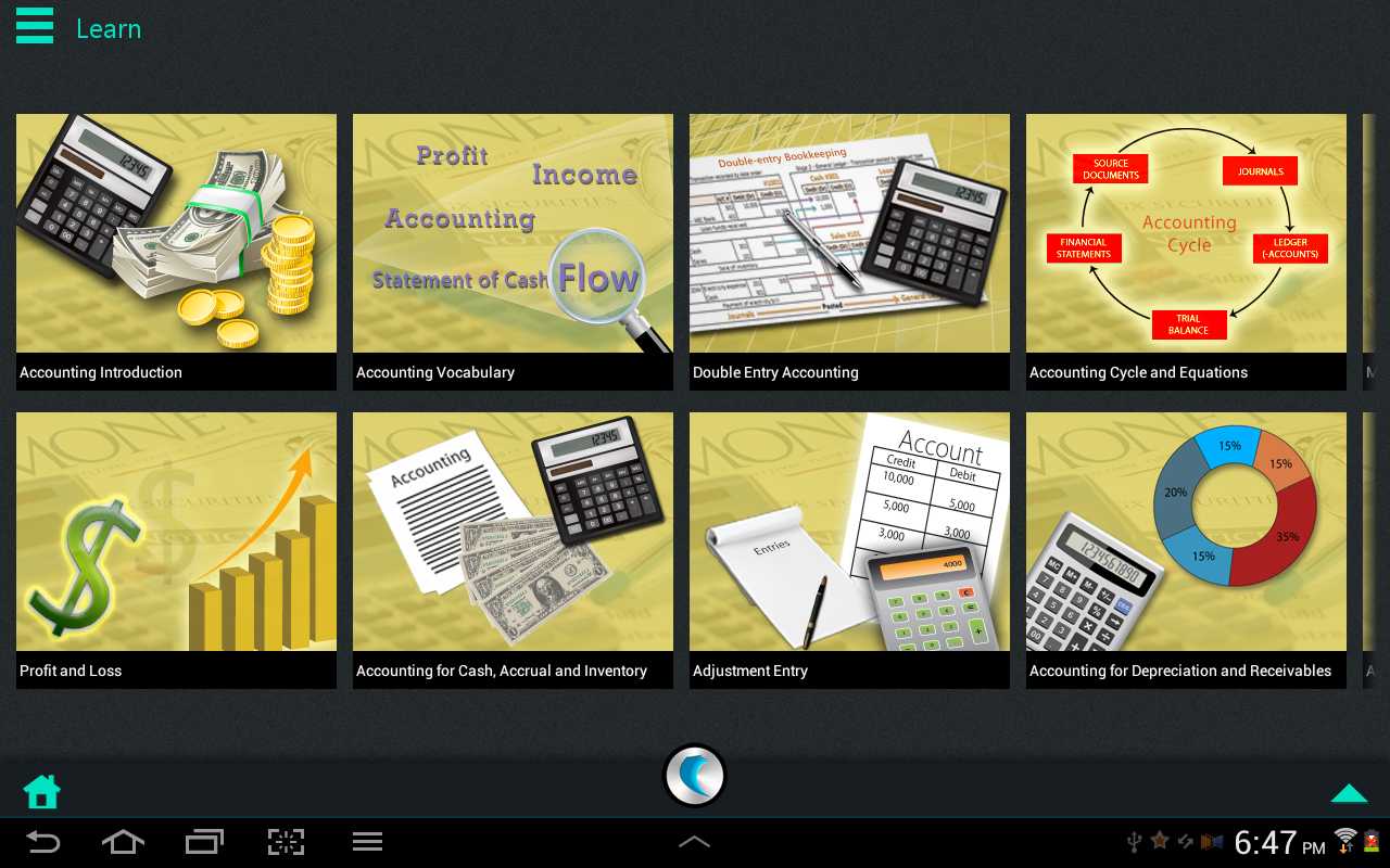 Accounting by WAGmob - screenshot