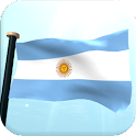 Argentina Flag 3D Free icon