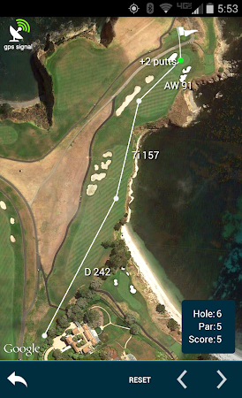 Golf GPS Rangefinder: Golf Pad 11.17 screenshot 351873