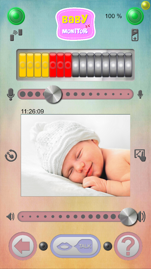 Baby Monitor AV - screenshot