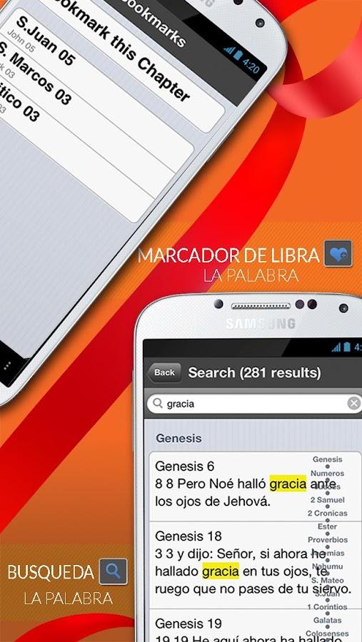 Santa Biblia Reina Valera - screenshot