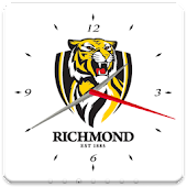 Richmond Tigers Analog Clock