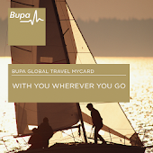 Bupa Global Travel myCard