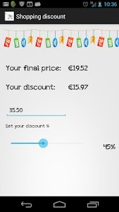 Shopping Discount screenshot 1