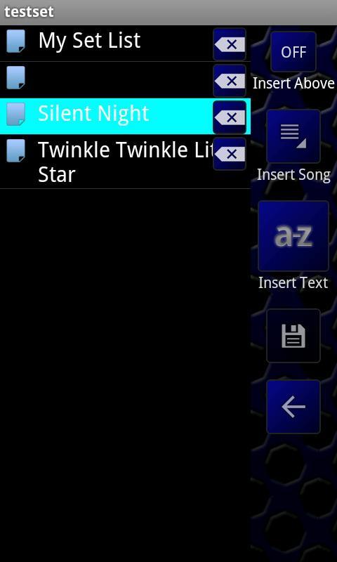 Lyric Pad FREE.- screenshot