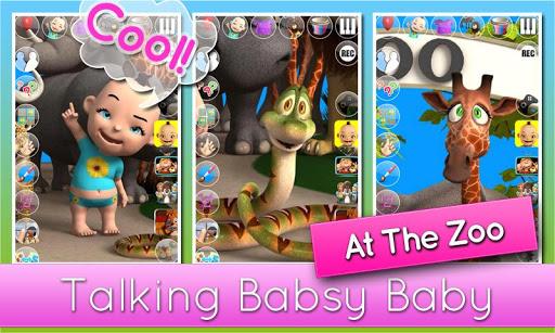 說到Babsy嬰兒在動物園 - Children Games
