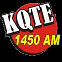 KQTE RADIO 1450 logo