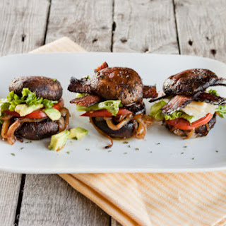 Portobello Sliders Three Ways {Vegan, Paleo, Traditional}.