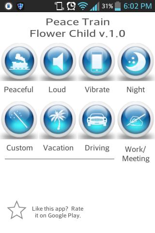 Peace Train Auto SMS Profiles