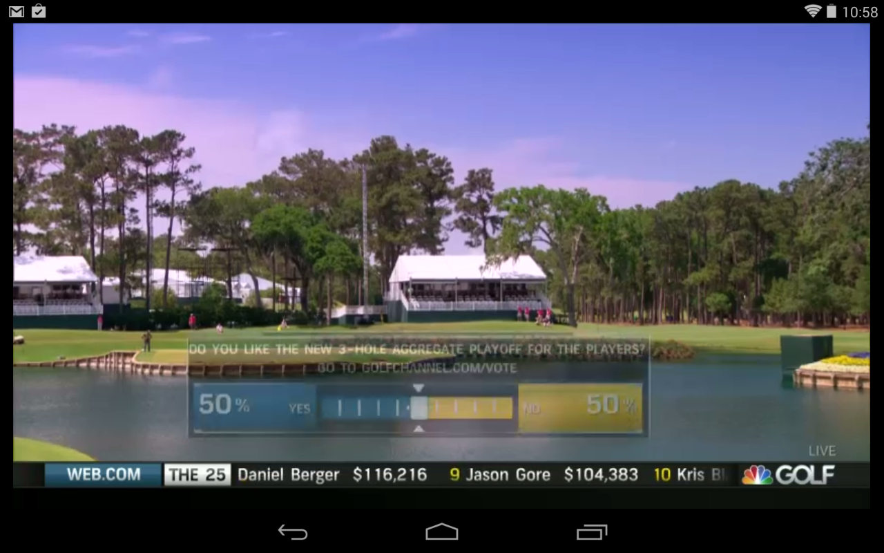Golf Live Extra- screenshot