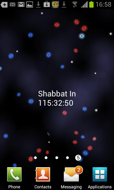 Shabbat- screenshot