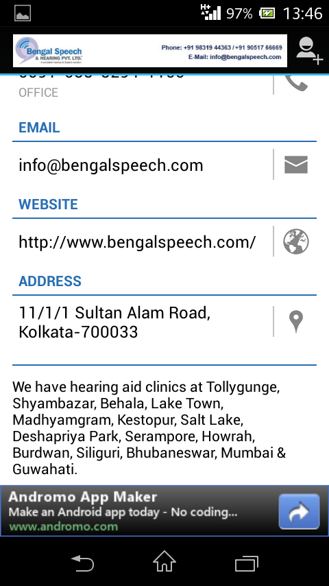 Hearing Aids & Speech Therapy- screenshot