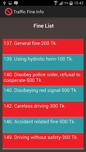 Traffic Fine Info