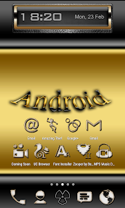 Gold-PD Icon Pack v1.1.0