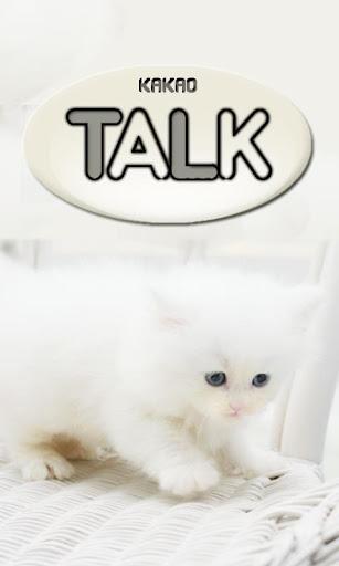 아기고양이 카카오톡테마