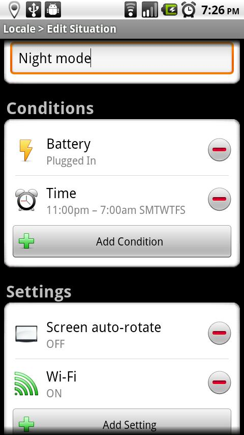 Locale Screen Auto-Rotate Plug - screenshot