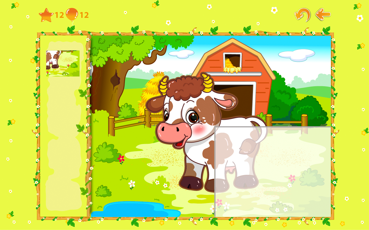 Animal puzzles for toddlers 1+ screenshot #4