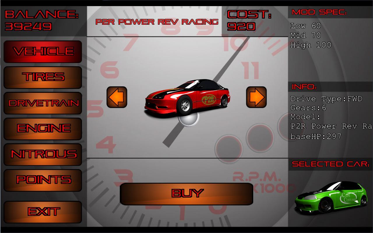 NSCRA Tuner Challenge 2K12- screenshot
