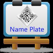 Name Card (Name Plate)